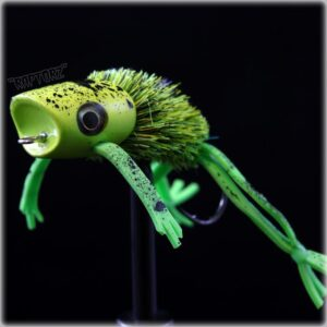 popper fly for pike fishing